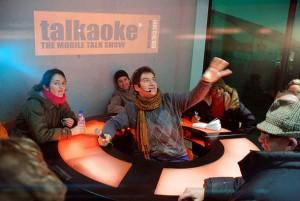 Talkaoke table