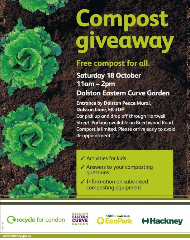 Compost Giveaway day