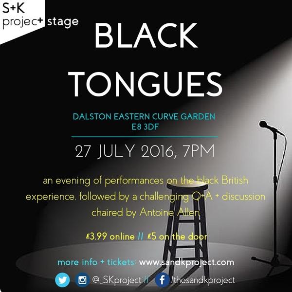 BLACK TONGUES