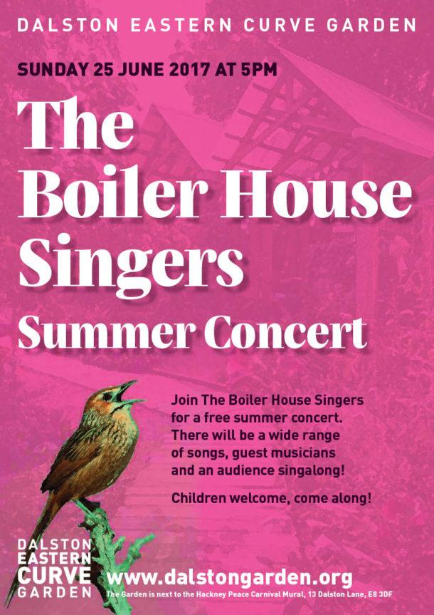 boilerhouse summer concert